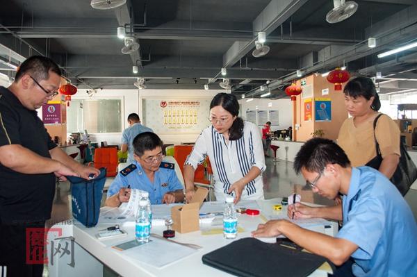 市监局风满楼:免费检测产品 服务电商发展